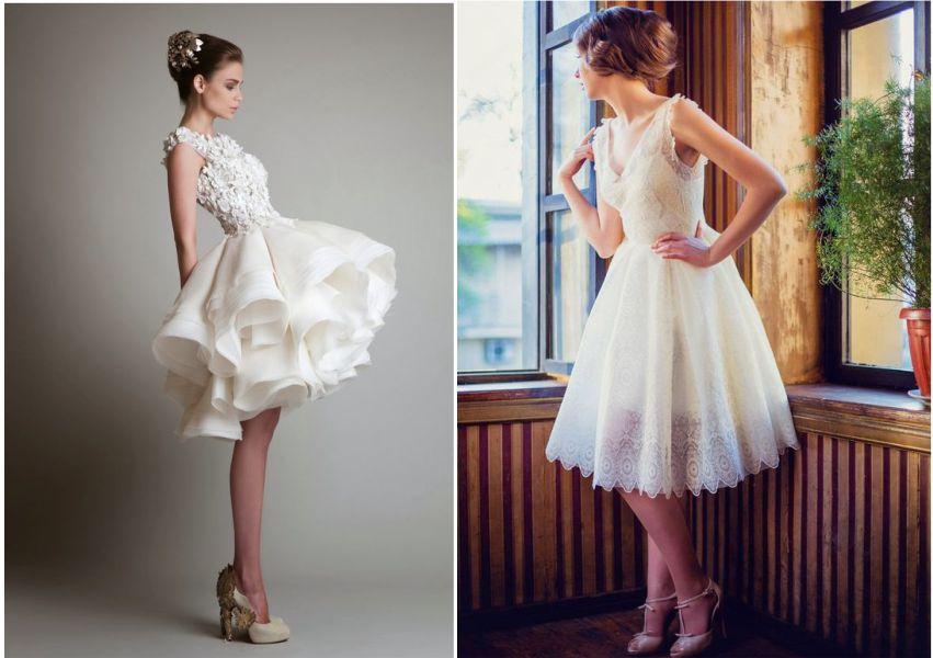 Vestido De Noiva Para Casamento Moderno Sim No Altar
